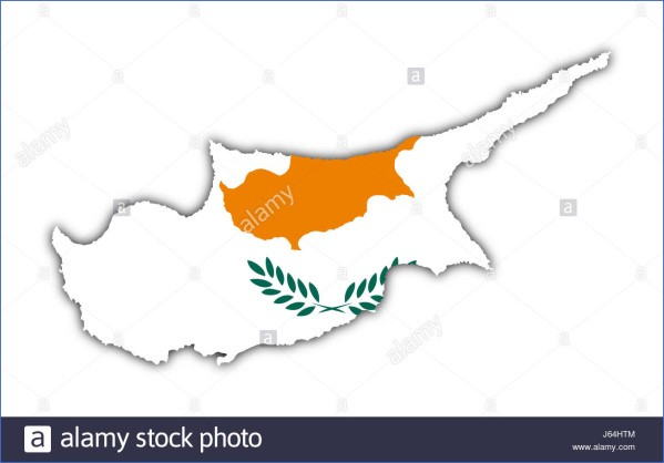 cyprus map and flag  13 Cyprus Map And Flag