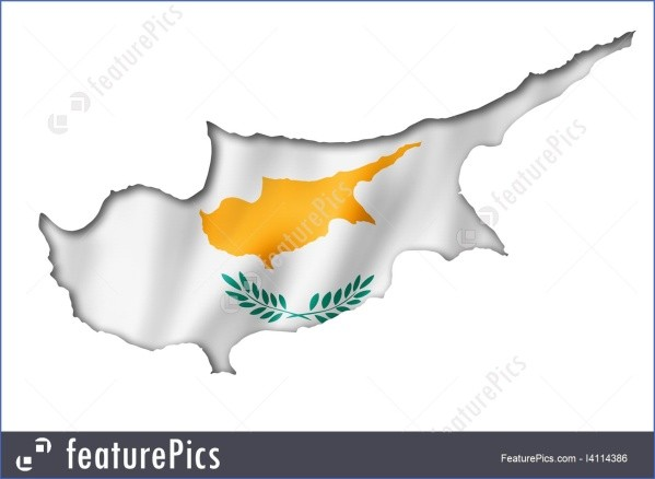 cyprus map and flag  15 Cyprus Map And Flag