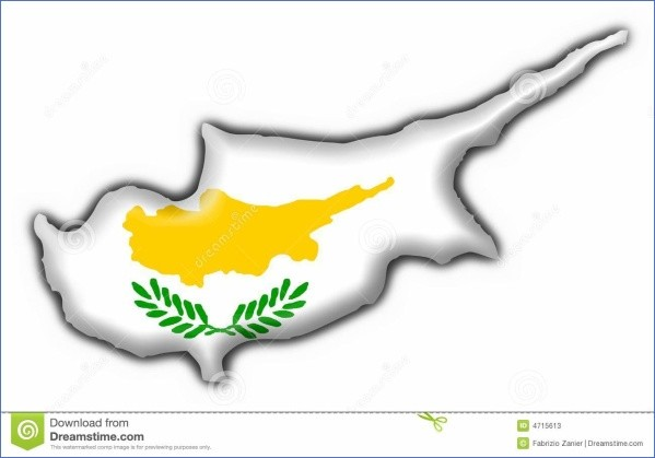 cyprus map and flag  17 Cyprus Map And Flag