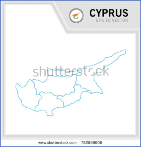 cyprus map and flag  3 Cyprus Map And Flag
