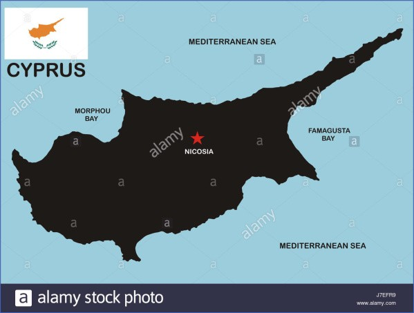 cyprus map and flag  5 Cyprus Map And Flag