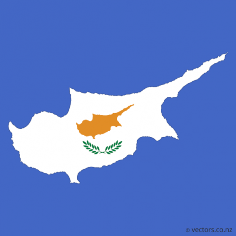 cyprus map and flag  6 Cyprus Map And Flag