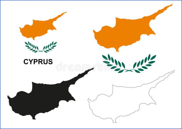 cyprus map and flag  7 Cyprus Map And Flag