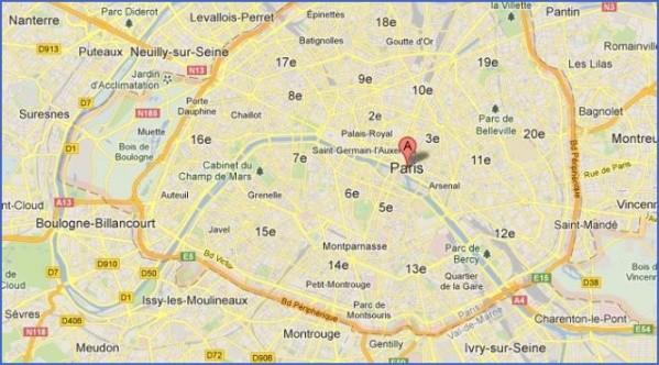 Google Maps Paris France - ToursMaps.com ®