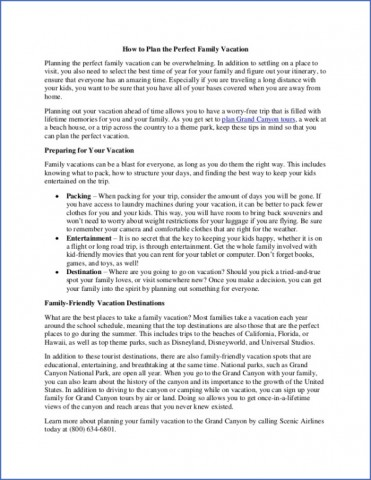how to plan a family vacation 2 How to Plan a Family Vacation