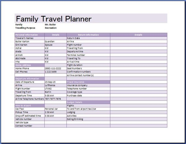 how to plan a family vacation 9 How to Plan a Family Vacation