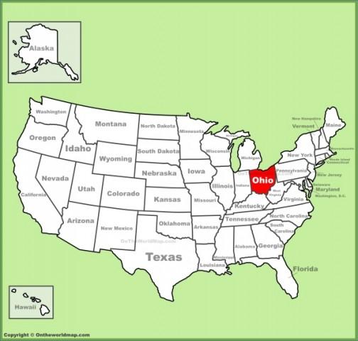 map of ohio 16 Map of Ohio