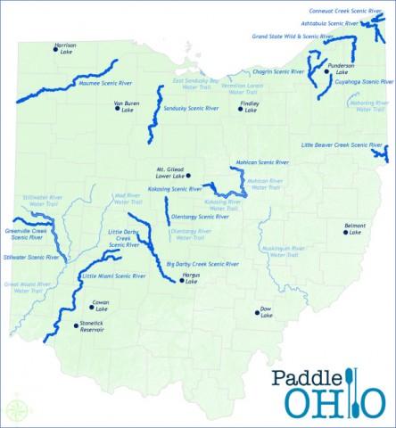 map of ohio 8 Map of Ohio