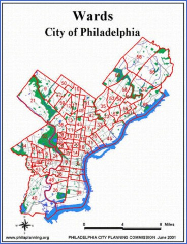 map of philadelphia 1 Map of Philadelphia