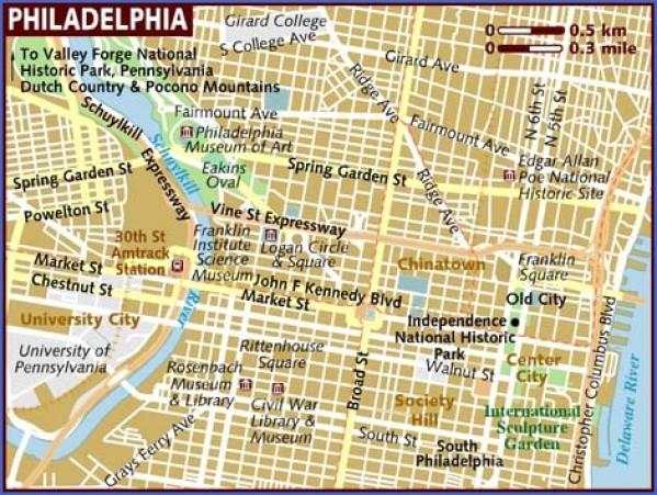 map of philadelphia 15 Map of Philadelphia