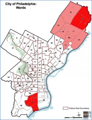 map of philadelphia 9 Map of Philadelphia
