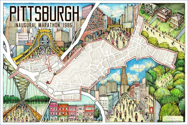 map of pittsburgh 14 Map of Pittsburgh