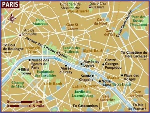 paris city map 10 Paris City Map