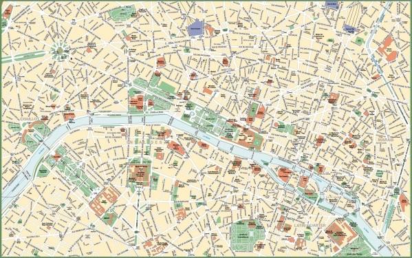 paris city map 13 Paris City Map