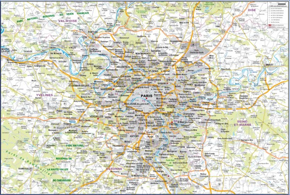 paris city map 3 Paris City Map