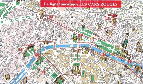 paris map landmarks paris landmarks map 11 Paris Map Landmarks Paris Landmarks Map