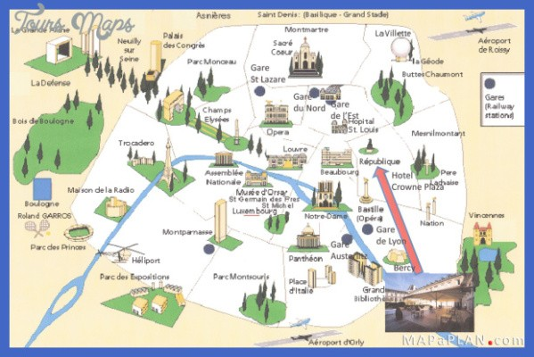 paris map landmarks paris landmarks map 2 Paris Map Landmarks Paris Landmarks Map
