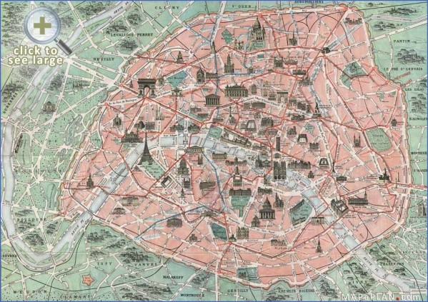 paris map landmarks paris landmarks map 8 Paris Map Landmarks Paris Landmarks Map