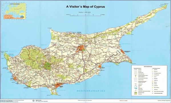 polis chrysochous beach map 14 Polis Chrysochous Beach Map