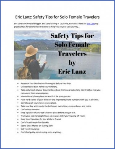 safety tips for traveling to usa 1 Safety Tips For Traveling To Usa