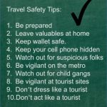 safety tips on traveling 12 150x150 Safety Tips On Traveling