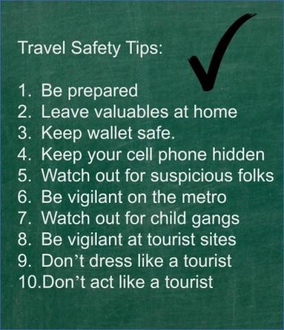 safety tips on traveling 12 Safety Tips On Traveling