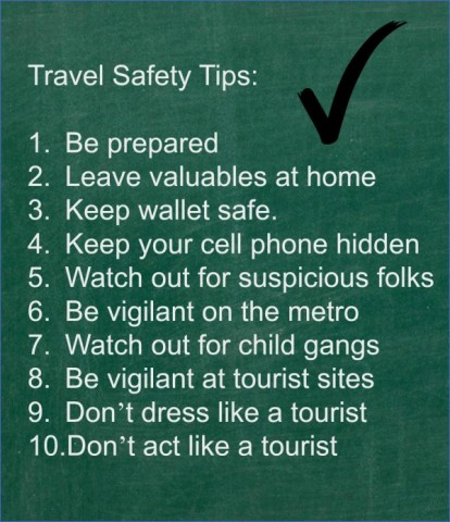 safety tips when traveling 14 Safety Tips When Traveling