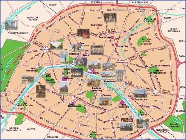 street map of paris arrondissement map 1 Street Map Of Paris Arrondissement Map