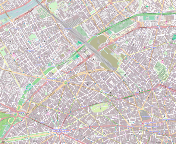 street map of paris arrondissement map 5 Street Map Of Paris Arrondissement Map