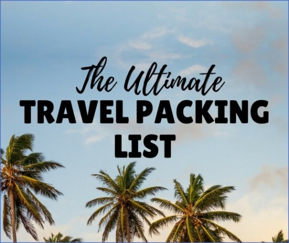 the ultimate travel packing checklist 11 The Ultimate Travel Packing Checklist