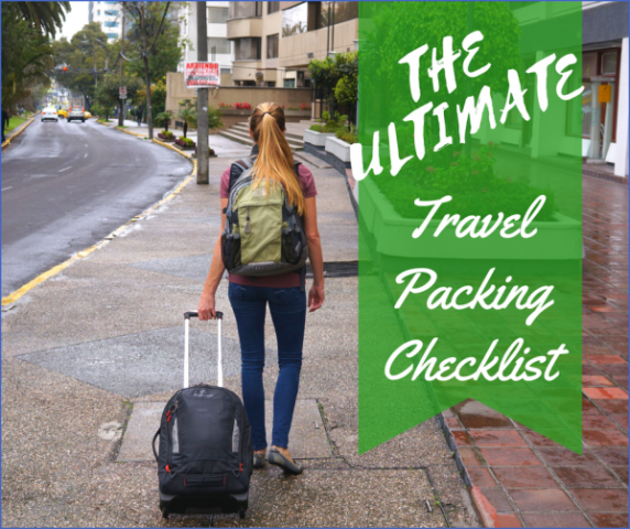 the ultimate travel packing checklist 12 The Ultimate Travel Packing Checklist