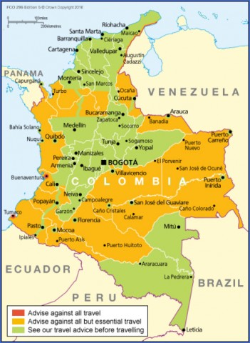 travel advice and advisories for colombia 2 Travel Advice And Advisories For Colombia