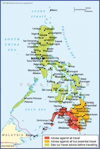 travel advice and advisories for philippines 0 Travel Advice And Advisories For Philippines