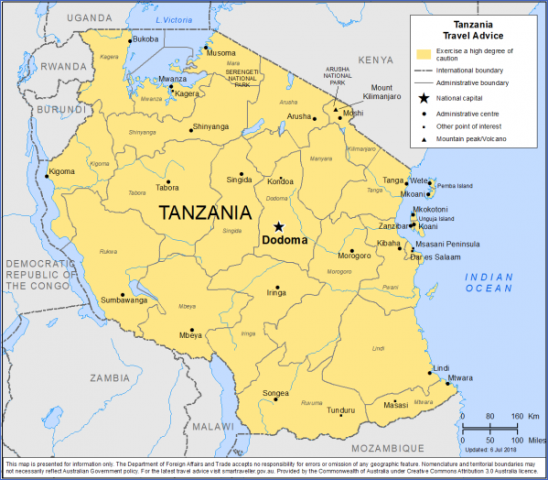 travel advice and advisories for tanzania 3 Travel Advice And Advisories For Tanzania