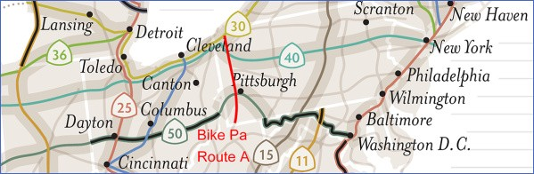 u s bicycle route system 6 U.S. Bicycle Route System