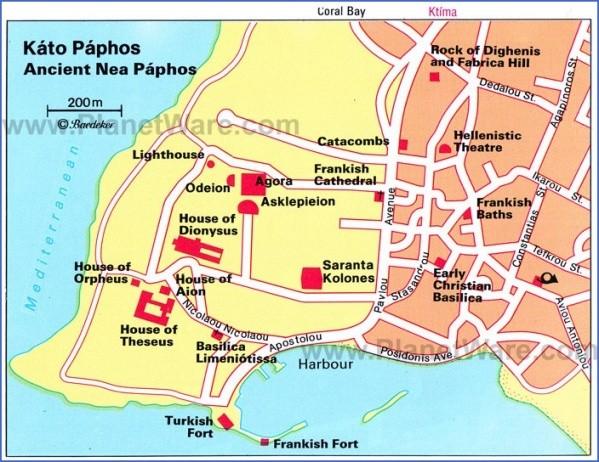villages map explore paphos 21 Villages Map: Explore Paphos