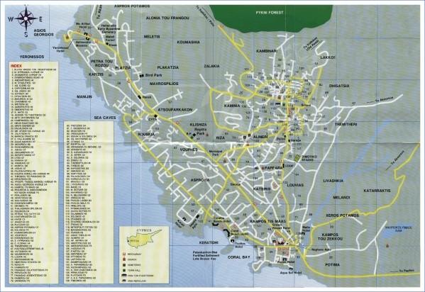 villages map explore paphos 5 Villages Map: Explore Paphos