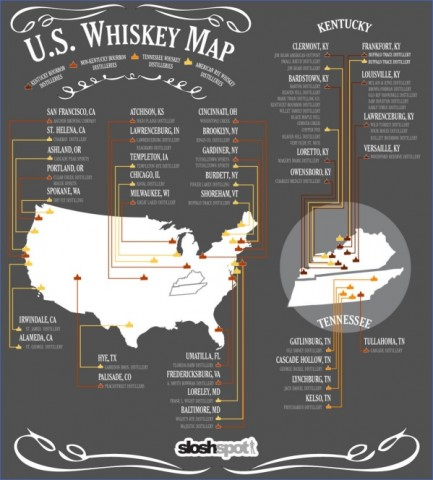 whiskey and bourbon trails in usa 12 Whiskey and Bourbon Trails in USA