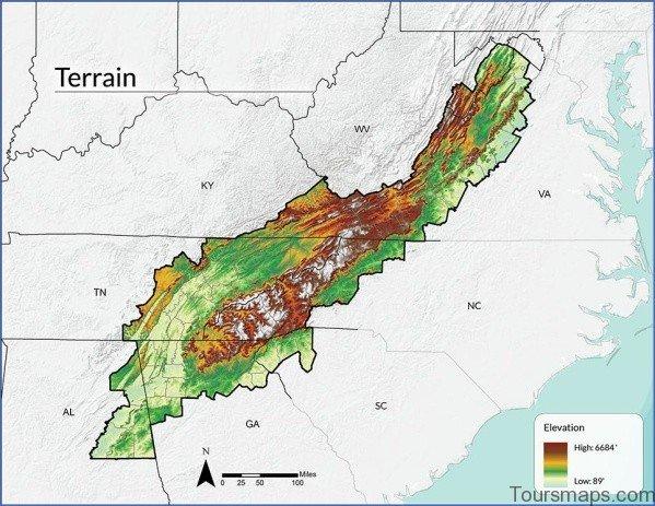 appalachian map 15 Appalachian Map