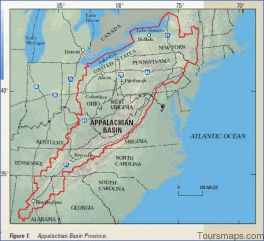 appalachian map 18 Appalachian Map