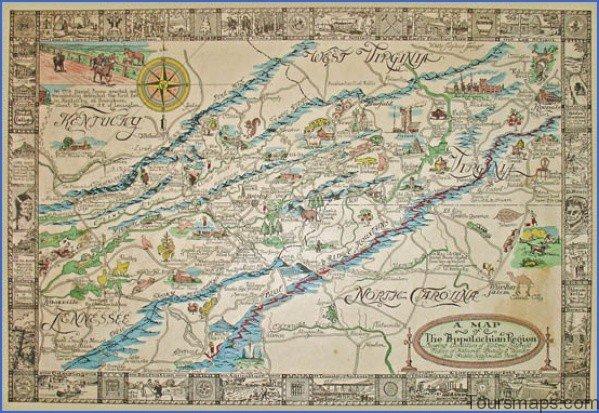 appalachian map 8 Appalachian Map