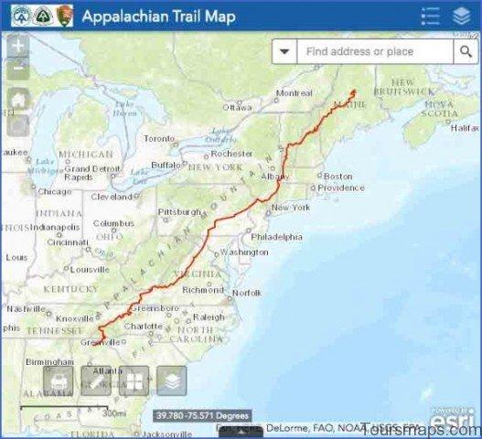appalachian map 9 Appalachian Map