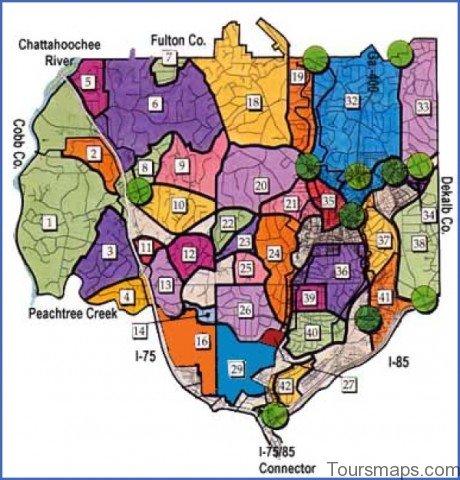 atlanta area map 13 Atlanta Area Map