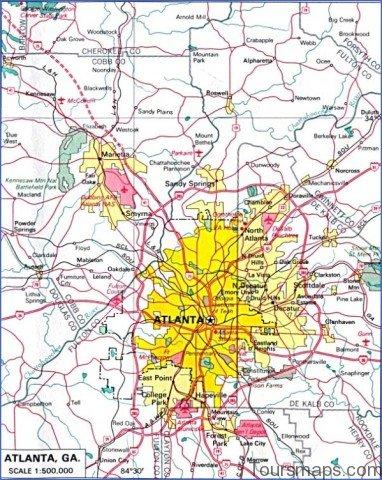 atlanta area map 2 Atlanta Area Map