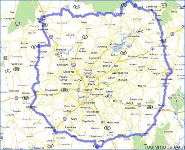 atlanta area map 5 Atlanta Area Map