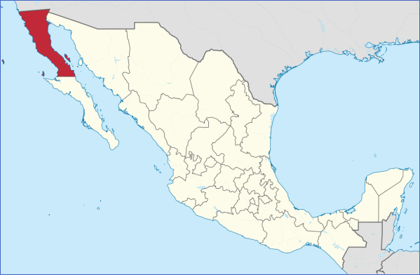 baja california map 14 Baja California Map