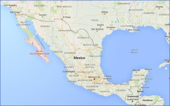 baja california map 6 Baja California Map