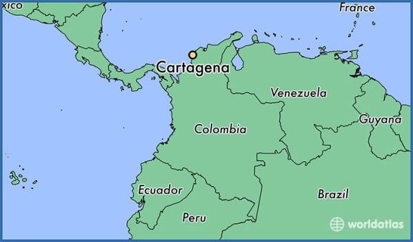 cartagena map 0 Cartagena Map