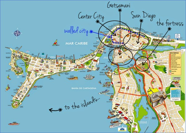 cartagena map 10 Cartagena Map