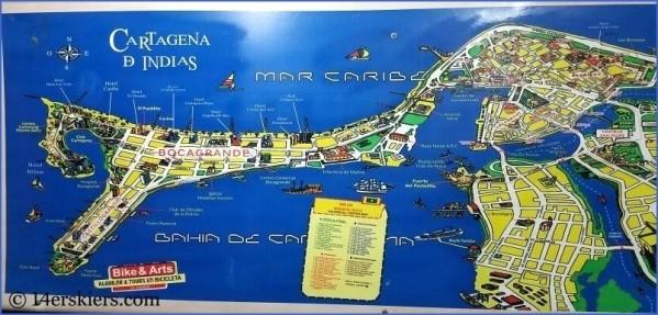 cartagena map 11 Cartagena Map